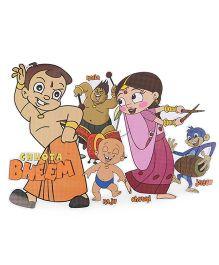 Sticker Bazaar Chhota Bheem Big Cut Out - Multi Color