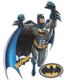 Sticker Bazaar Batman A4 Size Cut Out Sticker - Blue Grey