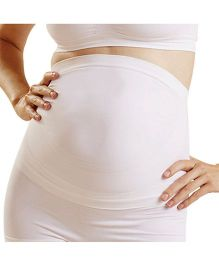 NewMom Seamless Maternity Support Belt - Small - White