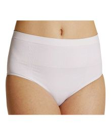 NewMom Seamless C-Section Panty - Large -  White