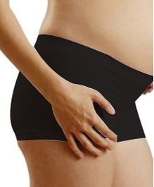 NewMom Seamless Pregnancy Hipster - X Large - Black