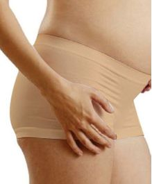 NewMom Seamless Pregnancy Hipster - X Large - Beige