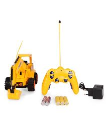 Playmate Remote Control Shovel Loader Super Power Truck - Yellow