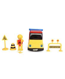 Baby Truck Toy Set - Yellow Blue