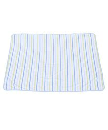 Owen Interlock Blanket Stripes Pattern - Blue