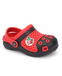 Angry Birds Clogs With Back Strap - Red Black