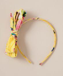 Coo Coo Garden Hairband - Yellow