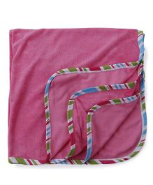 Ohms Terry Blanket - Pink