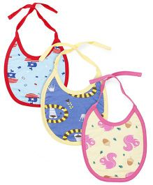 Ohms Bibs Pack of 3 - Blue Yellow