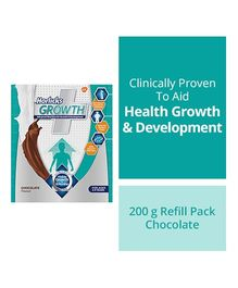 Horlicks Growth Plus Health & Nutrition Drink Chocolate Flavor - 200 gm Refill Pack