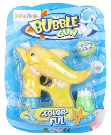 Dolphin Shape Bubble Gun -Yellow