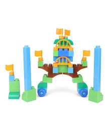 Fab N Funky Blocks Game Set Multicolor - 62 Pieces