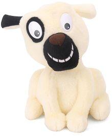 Woody O'Time Wriggle Doggie Soft Toy - White