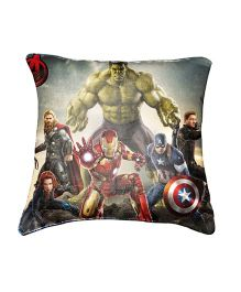 Marvel Avengers Cushion Cover Throw Pillow by Belkado - Multi Color