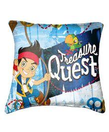 Disney Jake Cushion Cover Throw Pillow by Belkado - Blue