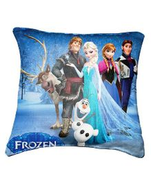Disney Frozen Cushion Cover Throw Pillow by Belkado