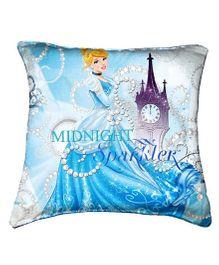 Disney Cinderella Cushion Cover Throw Pillow By Belkado - Blue