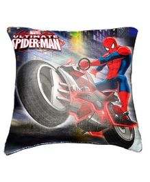 Marvel Ultimate Spider Man Cushion Cover By Belkado - Multi Color