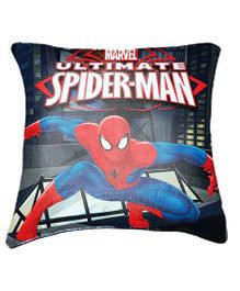 Marvel Ultimate Spider Man Cushion Cover By Belkado - Blue Red