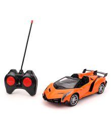 Turboz City Sedan Remote Control Car - Orange