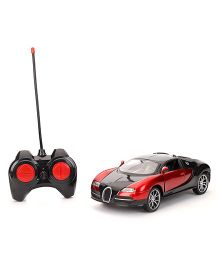 Turboz Remote Control City Car - Black And Red