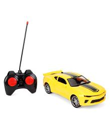 Turboz Remote Control City Car Sedan - Yellow