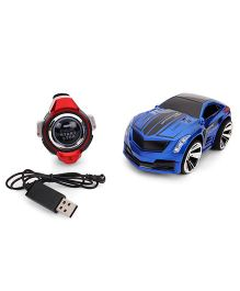 Turboz Voice Control Car by Smart Watch - Blue Red
