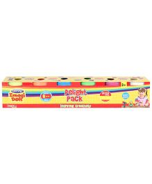 Craftival Imagi Doh Delight Pack of 6 - Multi Color