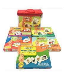 Krazy Flash Cards Pack Of 5 - Multi Color
