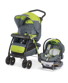 Chicco Cortina CX Travel System Lima USA Grey Green - 79748550070