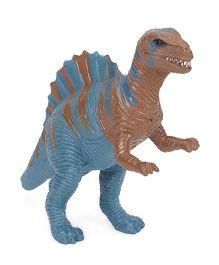 Wild Republic Bulk Dino Hollow Figure Blue Brown - 14 cm