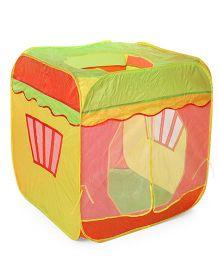 Tent House - Yellow Green Orange