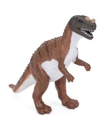 Wild Republic Bulk Dino Hollow Figure Brown White - 14.5 cm