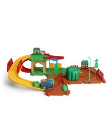 Train Set Block Game - Multicolor