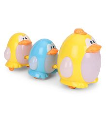 Musical Penguins Yellow & Blue - Pack Of 3