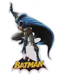 Sticker Bazaar Batman Medium Cut Out - Black