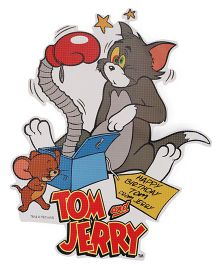 Sticker Bazaar Tom And Jerry Medium Cut Out - Multi Color