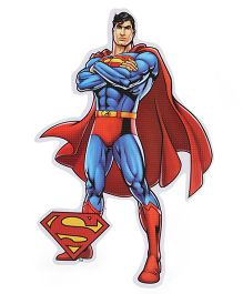 Sticker Bazaar Superman Medium Cut Out - Blue Red