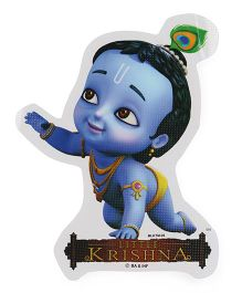 Sticker Bazaar Little Krishna Sticker Cut Out Blue - Medium