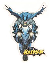 Sticker Bazaar Bat Man Cut Out - Blue