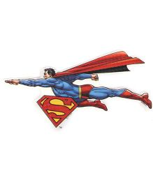 Sticker Bazaar Superman Cut Out - Blue Red
