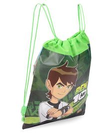 Sticker Bazaar Ben 10 Drawstring Bag Pack of 10 - Green