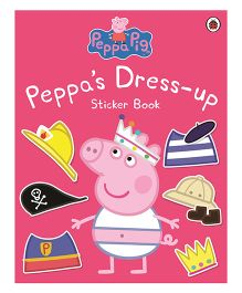 Peppa Dress Up Sticker Book - English