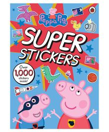 Peppa Pig Super Stickers Activity Book - English