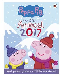 Peppa Pig Story Book With Puzzle And Games Official Annual 2017 - English