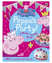 Peppa Pig Story Book Peppa's Party - English