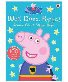 Peppa Pig Sticker Book Well Done Peppa - English