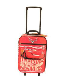 Disney Gamme Cars Soft Trolley Bag Red - 17.5 Inch