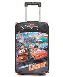 Disney Gamme Cars Soft Trolley Bag Multi Color - 17.5 Inch