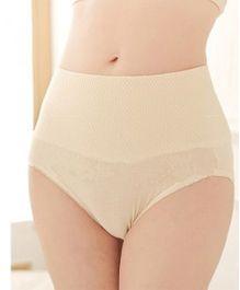 Aaram Butt Lift High Cut Slim Panties - Cream